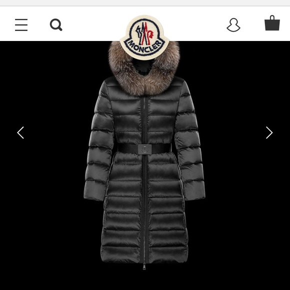 4462eb7c2 Moncler-Tinuviel-Women's Long Down Jacket LIKE NEW